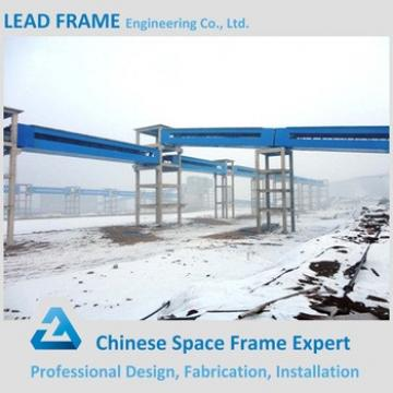 Light Weight Steel Space Frame Trestle Bridge For Coal