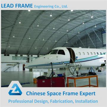 Pre Engineering Steel Truss Roof Structure Airplane Hangar
