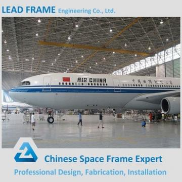 Galvanized Steel Space Frame Structure Airplane Hangar