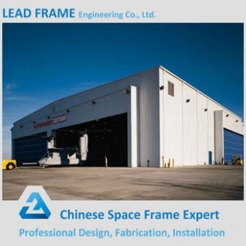 Hot selling prefabricated aircraft hangar