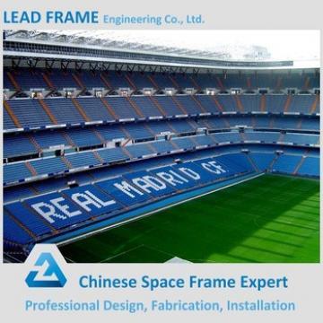 durable prefabricated curved roof stadium