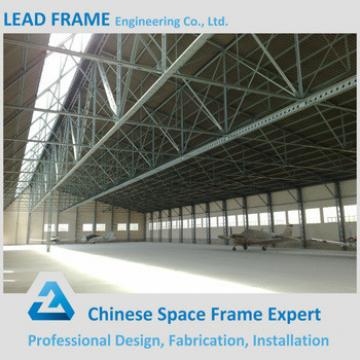 High rise construction design steel structure aircraft hangar