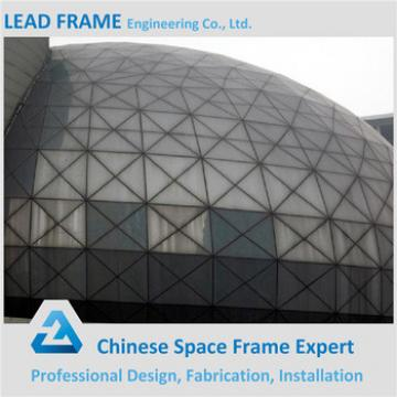 Low cost prefabricated dome steel sport hall