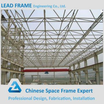practical design prefabricated steel structure space frame arched roof truss