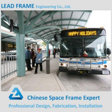 Customized Metal Construction Frame Bus Stop Shelter