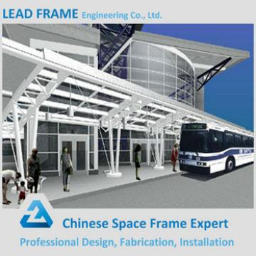 Light Weight Q235/Q345 Prefabricated Bus Shelters