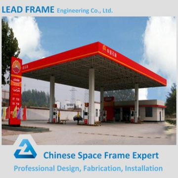 Construction Building Steel Frame Prefabricated Gas Station