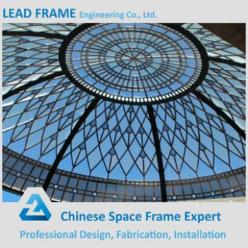 Prefabricated Color Glass Steel Syructure Frame Dome Skylight