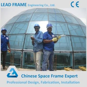Good Quality Professional Tempered Glass Dome Roof With Low Cost