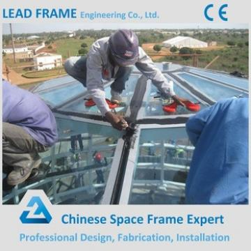 Light Space Steel Structure Dome Glass Roof