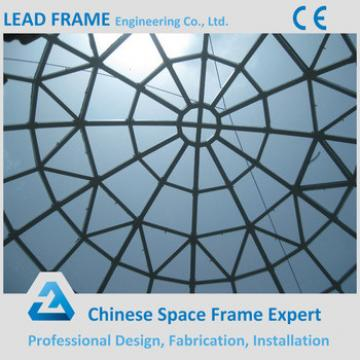 China supplier space frame structure glass dome cover