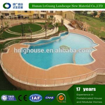 Top quality wood plastic composite decking/wpc flooring wood/deck wpc