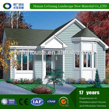 Good price wooden muscat factory prefab house in China