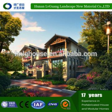 Cost-effective well designed prefab light steel home plans