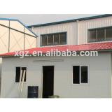 Flat roof steel structure prefabricated metal houses