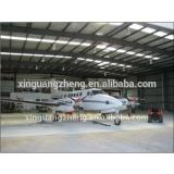construction steel structure light aircraft hangar