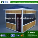 Wooden garden tool log house of latvia