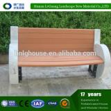 new design wood plastic composite garden mordern chair wpc bench