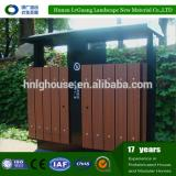 Sping-summer series wpc dustbin/industrial dustbin